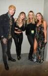 Trace, Miley, Tish & Brandi Cyrus