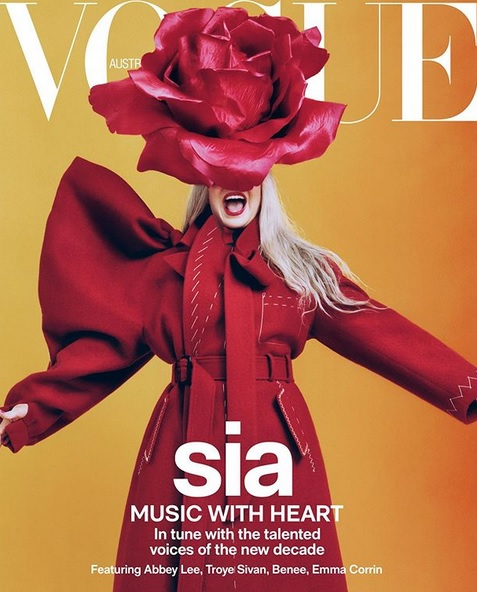 "Sia @ ""Vogue Australia"""