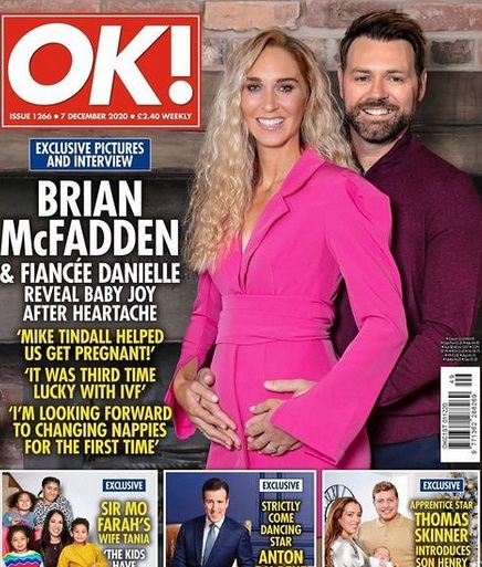 "Danielle Parkinson & Brian McFadden @ ""OK!"""