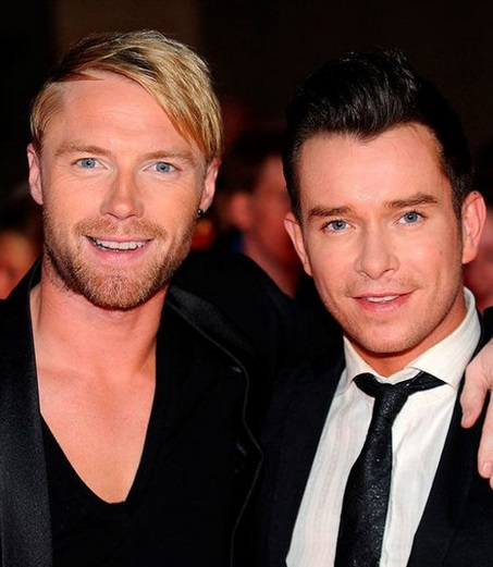 Ronan Keating & Stephen Gately