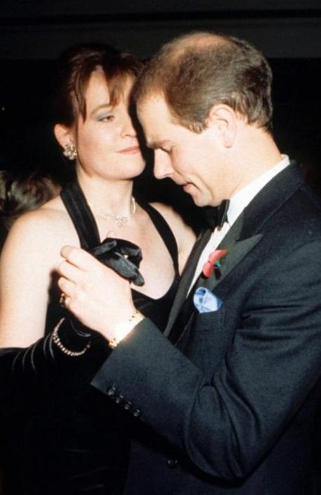 Ruthie Henshall & princas Edward