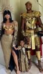 Khloé Kardashian, True & Tristan Thompson