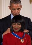 Barack Obama & Cicely Tyson (2016)