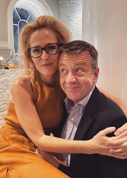 Gillian Anderson & Peter Morgan