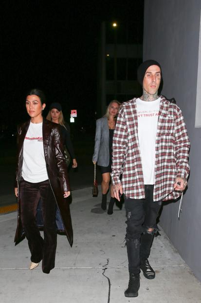 Kourtney Kardashian & Travis Barker