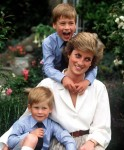 Harry, Diana & William