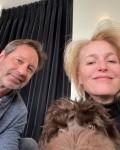 David Duchovny & Gillian Anderson