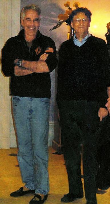 Jeffrey Epstein & Bill Gates
