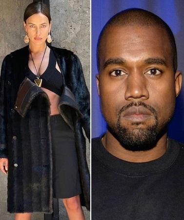 Irina Shayk & Kanye West