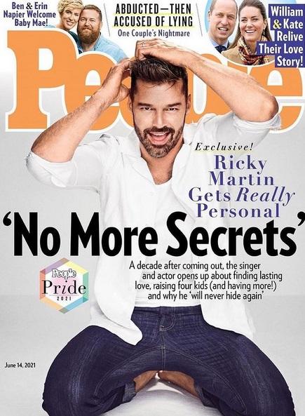 "Ricky Martin @ ""People"""